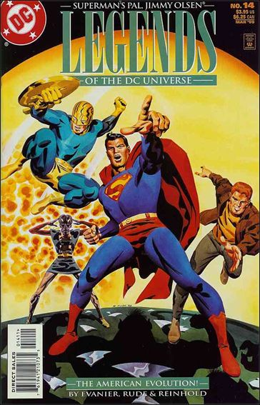 Legends of the DC Universe 14-A by DC