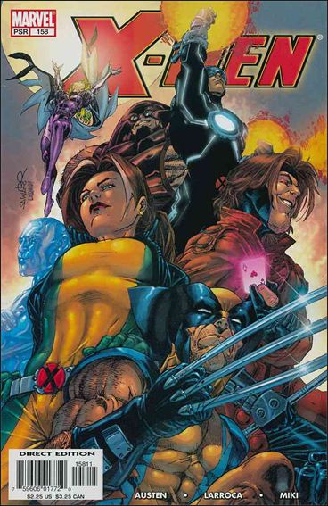 X-Men (1991) 158-A by Marvel