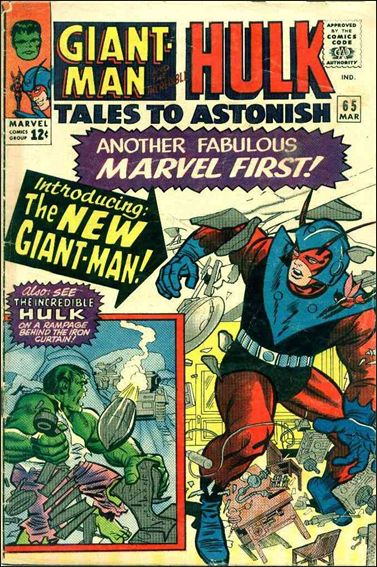 Tales to Astonish (1959) 65-A by Marvel