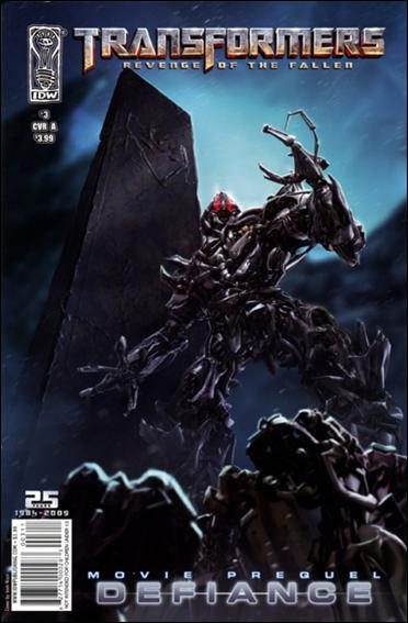 Transformers: Defiance 3-A by IDW
