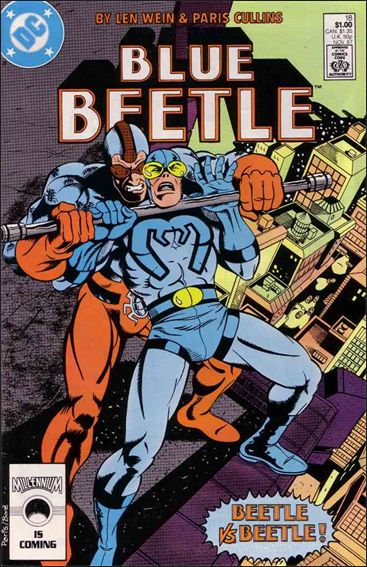 Blue Beetle (1986) 18-A by DC