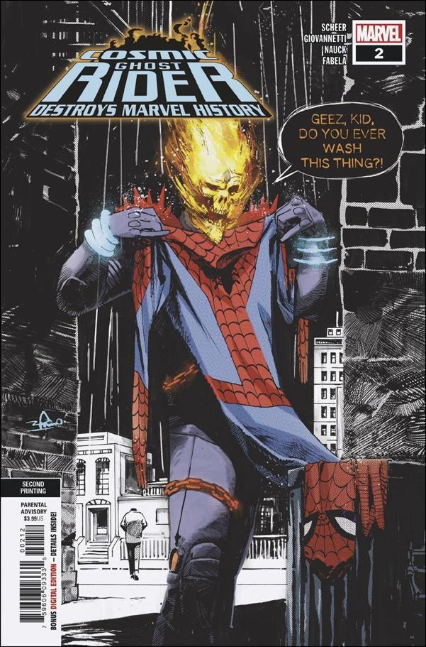 Cosmic Ghost Rider Destroys Marvel History 2-C by Marvel
