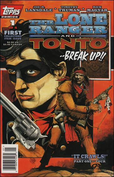 Lone Ranger and Tonto 1-A by Topps