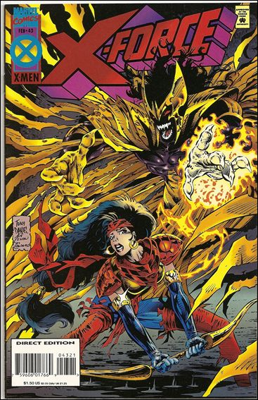X-Force (1991) 43-B by Marvel