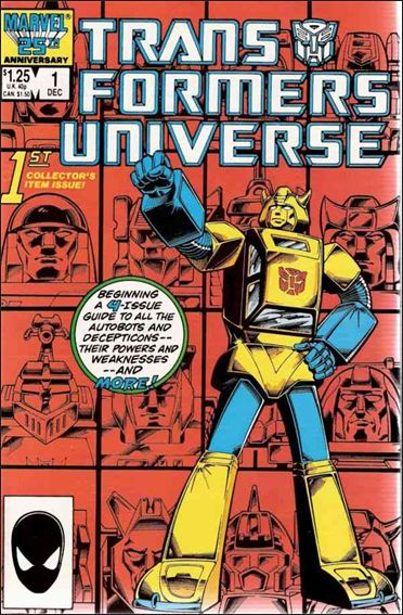 Transformers Universe (1986) 1-A by Marvel