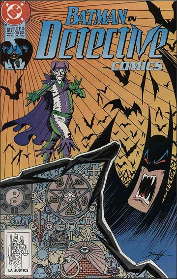 Detective Comics (1937) 617-A by DC