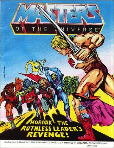 Masters of the Universe (1983) 4.9-A by Mattel