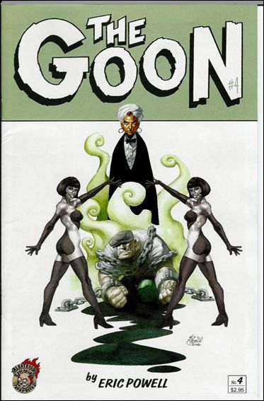 Goon (2002) 4-A by Albatross Exploding Funny Books