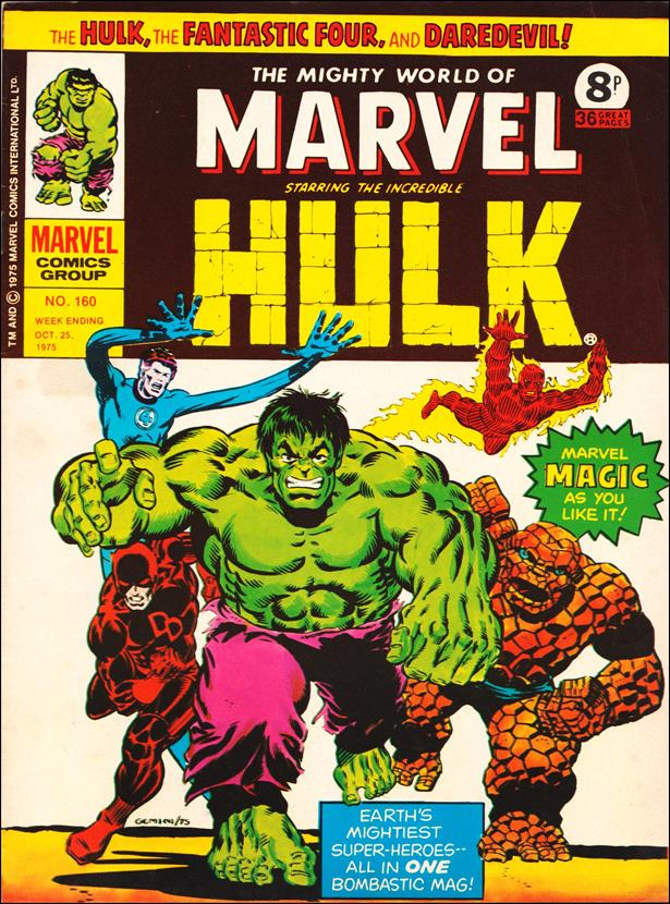 Mighty World of Marvel (UK) (1972) 160-A by Marvel UK
