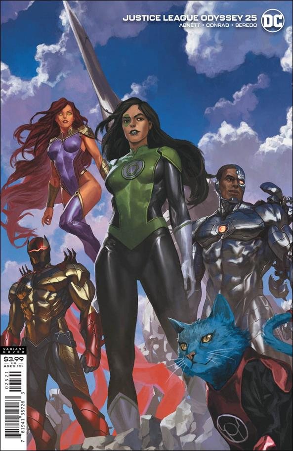 Justice League Odyssey 25-B by DC