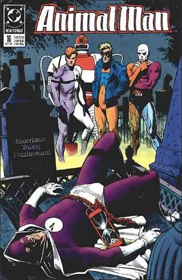 Animal Man (1988) 16-A by Vertigo