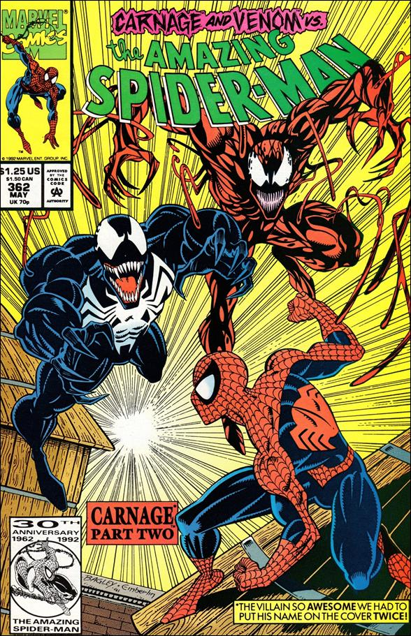 Amazing Spider-Man (1963) 362-A by Marvel