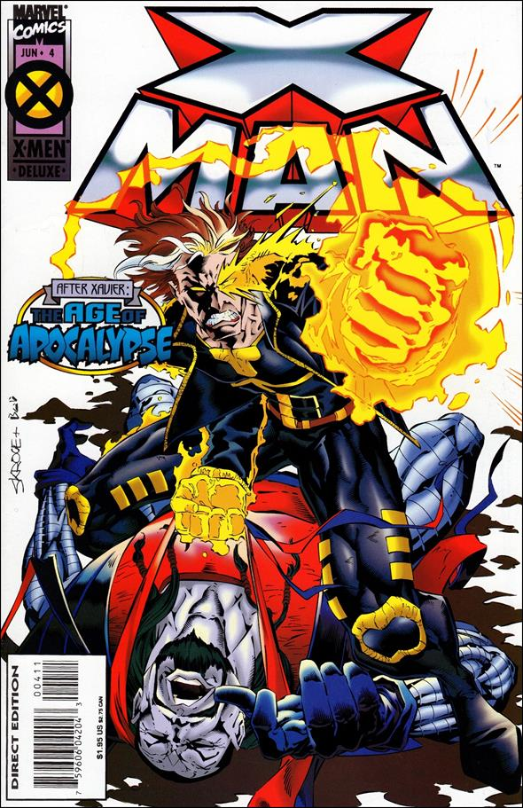 X-Man 4-A by Marvel