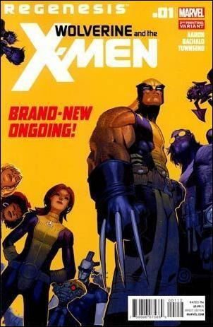 Wolverine & the X-Men 1-E by Marvel