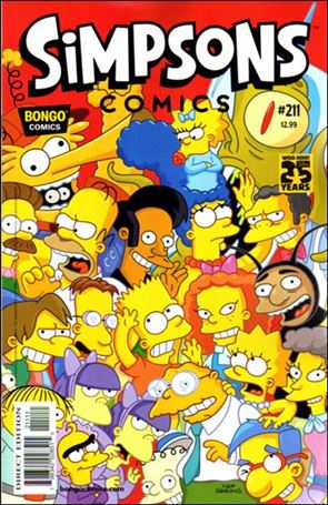 Simpsons Comics 211-A