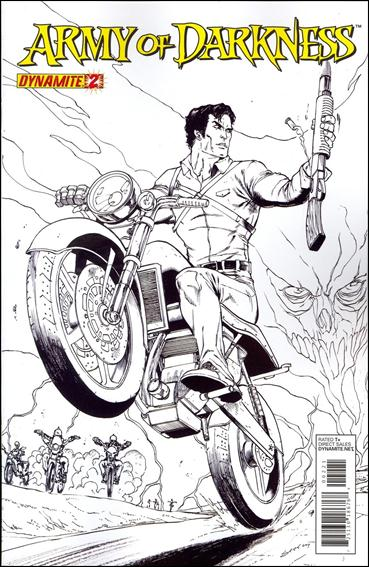 Army of Darkness (2012) 2-C by Dynamite Entertainment