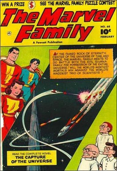 Marvel Family 68-A by Fawcett