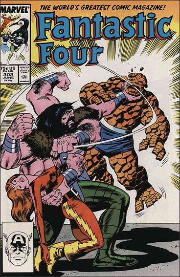 Fantastic Four (1961) 303-A by Marvel
