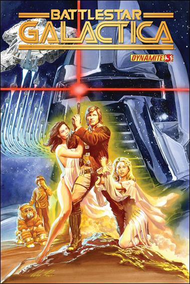 Battlestar Galactica (2013) 3-A by Dynamite Entertainment
