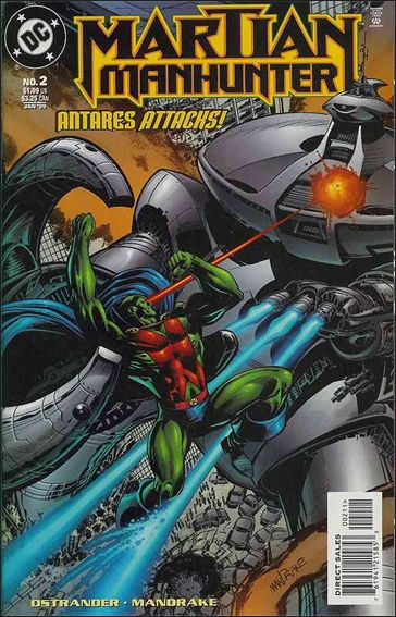 Martian Manhunter (1998) 2-A by DC