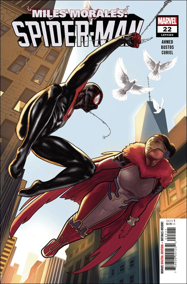 Miles Morales: Spider-Man 22-A by Marvel