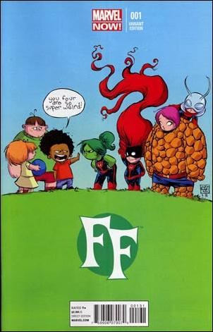 FF (2013) 1-D by Marvel