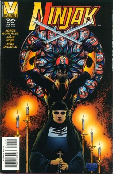 Ninjak (1994) 26-A by Valiant