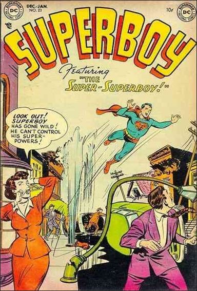 Superboy (1949) 23-A by DC