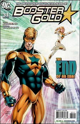 Booster Gold (2007) 31-A by DC