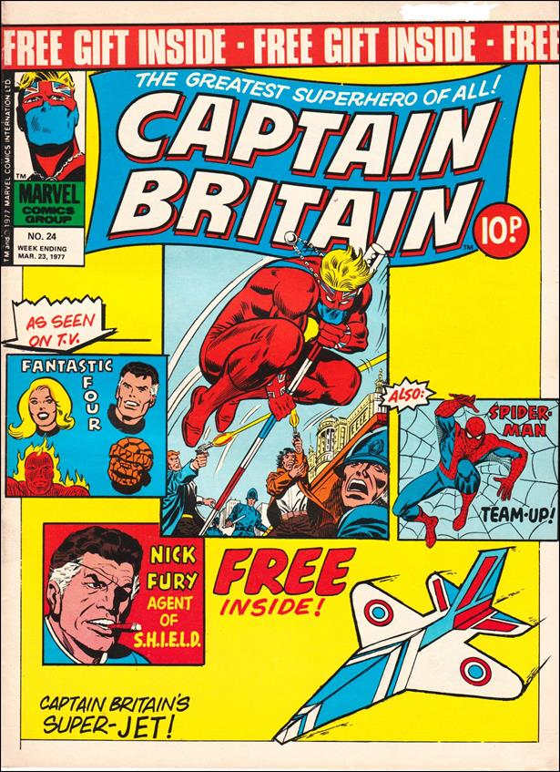 Captain Britain (UK) (1976) 24-A by Marvel UK