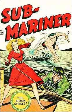 Sub-Mariner (1941) 23-A by Atlas