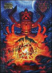 1994 Marvel Masterpieces (Gold-Foil Signature Parallel Base Set) 40-A by Fleer