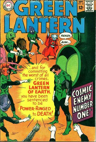Green Lantern (1960) 55-A by DC