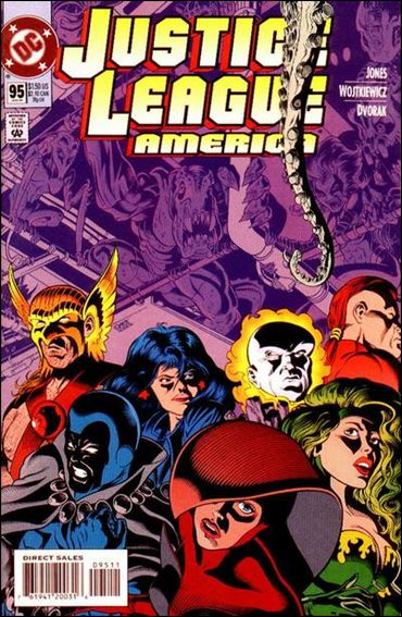 Justice League America 95-A by DC