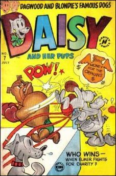 Daisy and Her Pups Comics 7-A by Harvey