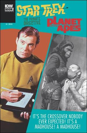Star Trek/Planet of the Apes: The Primate Directive 2-C