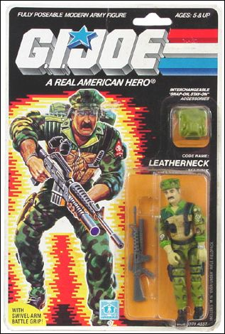 "G.I. Joe: A Real American Hero 3 3/4"" Basic Action Figures Leatherneck (Marine) by Hasbro"