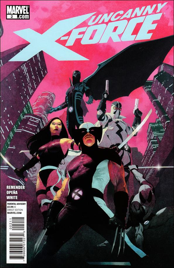 Uncanny X-Force (2010) 2-A by Marvel
