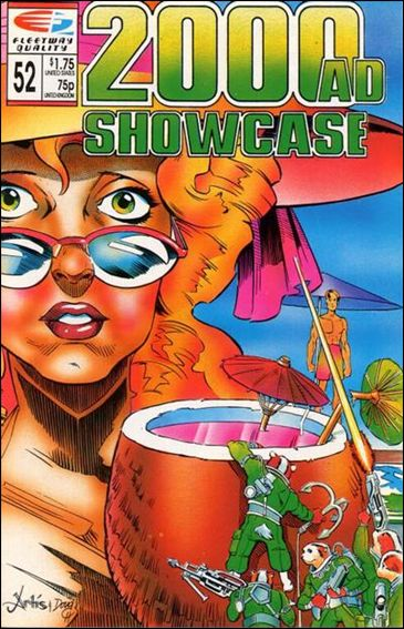 2000 A.D. Showcase (1988) 52-A by Quality Comics