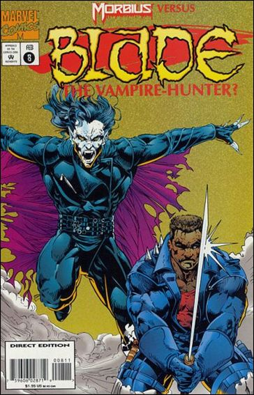 Blade: The Vampire-Hunter 8-A by Marvel