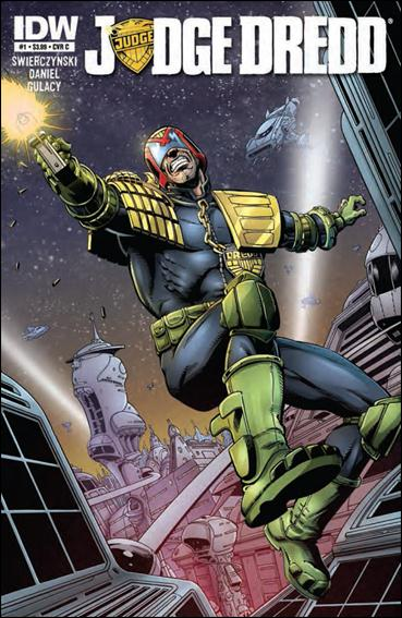 Judge Dredd (2012) 1-C by IDW
