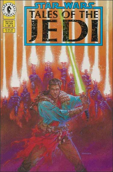 Star Wars: Tales of the Jedi 1-A by Dark Horse