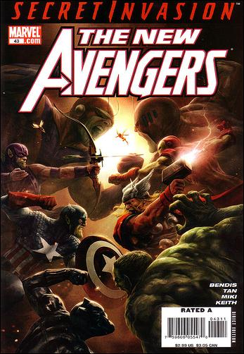 New Avengers (2005) 43-A by Marvel