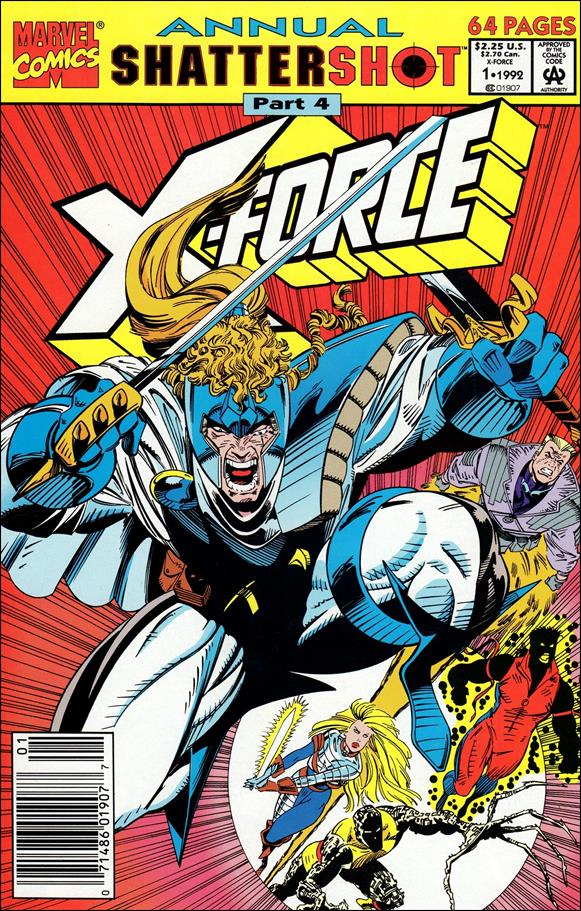 X-Force Annual 1-A by Marvel