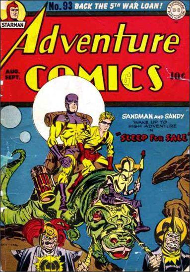 Adventure Comics (1938) 93-A by DC
