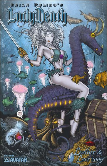 Lady Death: Leather & Lace 1-F by Avatar Press