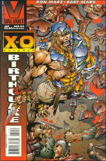 X-O Manowar (1992) 44-A by Valiant