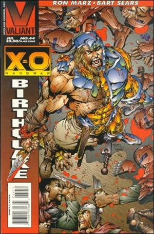X-O Manowar (1992) 44-A