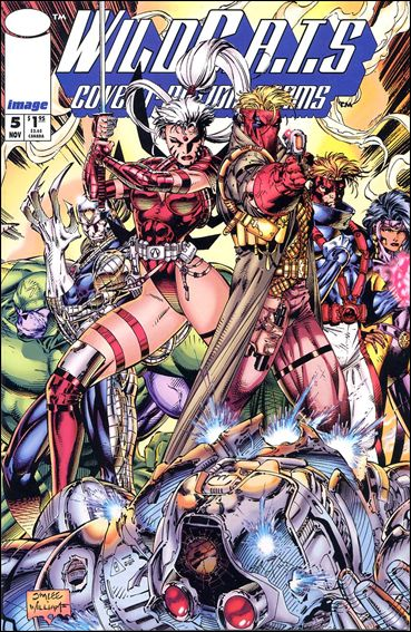 WildC.A.T.s: Covert Action Teams 5-A by Image