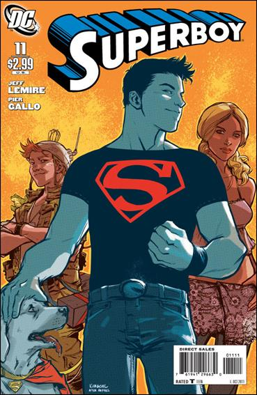 Superboy (2011/01) 11-A by DC
